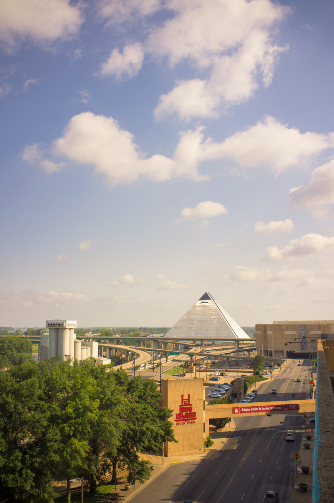 Memphis pyramid arena/Great American Pyramid