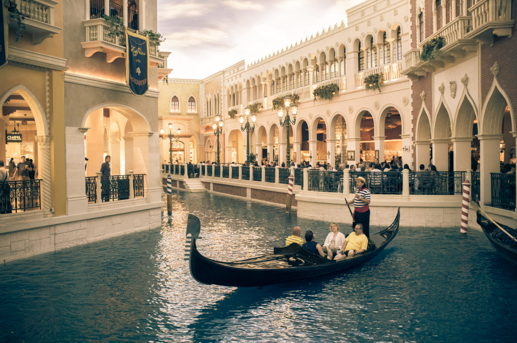 The Venetian (inside, air-conditioned)